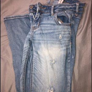 Hollister size 5S boot cut jean